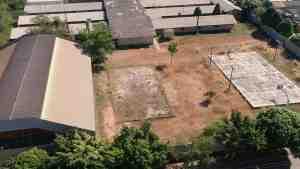 vista aérea do Colégio Dr. José Otino de Freitas